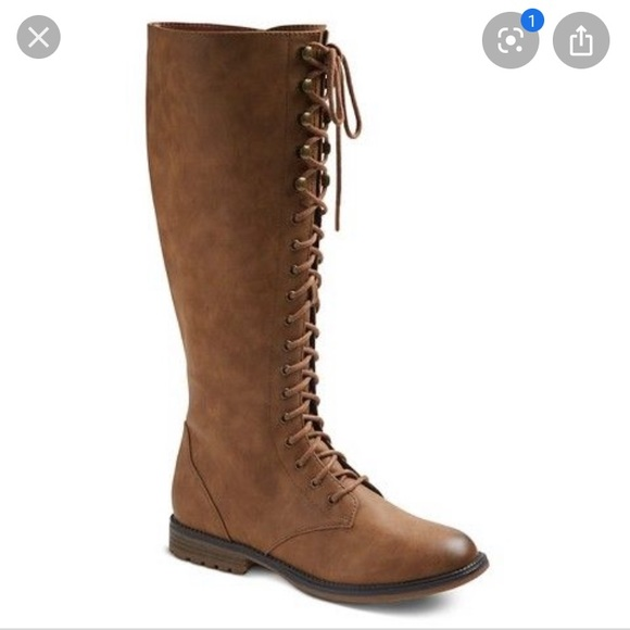 Target Shoes | Lace Up Boots | Poshmark